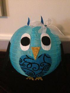 Owl paper lantern