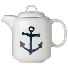 Now Designs L028003 40-Ounce Teapot, Anchors: Amazon.ca: Kitchen & Dining