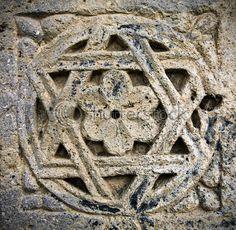The Armenian six winged star Armenian History, Armenian Culture, Armenian Food, Armenian Christianity, Orthodox Catholic, Baroque, Symbolic Art, Pagan Symbols, Art Roman