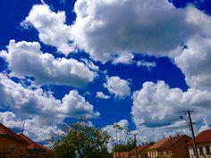 Cloud :) blue sky:)