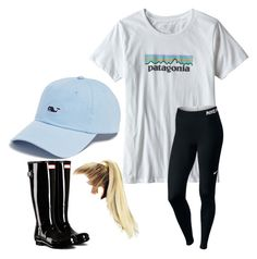 """""""Fun"""" by happygirl2001 on Polyvore featuring Hunter, Vineyard Vines, Patagonia and NIKE"""