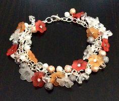 Bracelet fleurs d'oranger