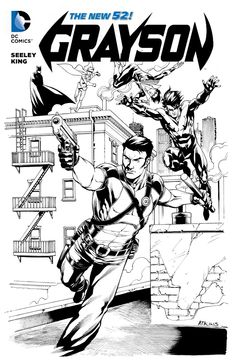 Robert Atkins Art: Grayson, well actually Nightwing in disguise...