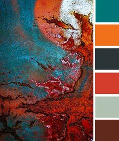 rust color palette rust brown color palette (something that I would see as my color palette for the set details) Orange Color Palettes, Colour Pallette, Color Palate, Colour Schemes, Rust Color, Color Stories, Color Swatches, Color Theory, House Colors
