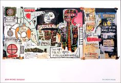 Jean Michel BASQUIAT Notary Urban Graffiti Style Poster Art #UrbanArt