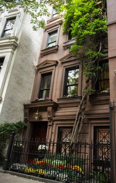 brownstone house   brownstone house located on 78th Street on the Upper East Side of ...
