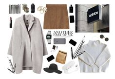 A fashion look from February 2016 featuring cashmere sweater, fur-lined coats and short skirts. Browse and shop related looks. Zero Maria Cornejo, Living Proof, Vanessa Bruno, Donna Karan, Casio, Nars Cosmetics, Adidas Originals, Polyvore Fashion, Chanel