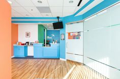 Children's Choice Pediatric Dentistry architecture, design, and construction in New Carrollton, MD | entryway