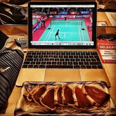 Another big win for Germany's Mark Zwiebler at Japan Open Super Series - so time for some incredible #sushi and preparing tactics and game plan for tomorrow where Marc will face world No1 Lee Chong Wei for another time. Follow our team on Facebook - via http://ift.tt/2d9MsBS #badminton #gesund #protein #healthyfats #tokyo #winning