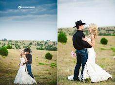 cowboy groom - country wedding