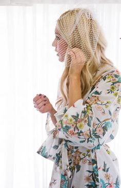 Gorgeous 'getting ready robes' for the bridal party | Plum Pretty Sugar