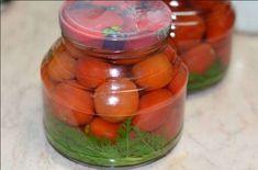 Recept Konzervované rajčata s mrkvovou natí bez nakladače Korn, Pickles, Cucumber, Pizza, Vegetables, Scrappy Quilts, Pickle, Vegetable Recipes, Zucchini