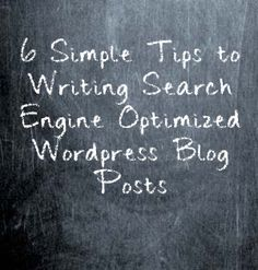 6 Simple SEO tips for your blogposts