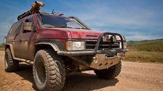 Nissan 4x4, Nissan Trucks, 4x4 Trucks, Nissan Hardbody, Nissan Terrano, Hummer H1, Nissan Pathfinder, Custom Cars, Volvo