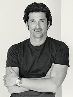Patrick Dempsey- sexy race car driving brain surgeon- yes please! Sullivan Patrick Dempsey, Pretty People, Beautiful People, Celebrity Gallery, Celebrity Pix, Celebrity Babies, Raining Men, Attractive Men, Famous Faces