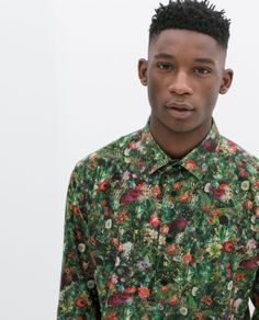 Image 5 of FLORAL PRINT SHIRT from Zara