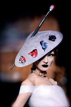 I ALWAYS WANTED TO LEARN HOW TO PAINT... (Christian Dior Couture F/W 2007)