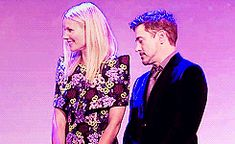 gif | Gwyneth Paltrow and Robert Downey Jr. And