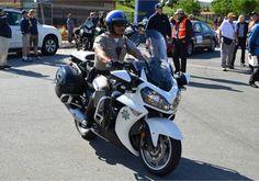 Kawasaki Police Motorcycle