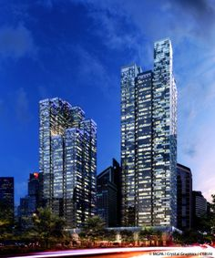 Asia Square Tower 2 , Singapore; ;  221.5 m  46 fl; completion 2013