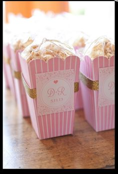 Popcorn bridal shower