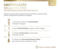 Loreal Professionnel   Cauterização Cellular a Frio Loreal Profissional   Beleza de Mulher - Os melhores produtos de beleza estão aqui!: http://www.belezademulher.com.br/cauterizacao-cellular-a-frio-loreal-profissional-pr-2717-92805.htm#.UMZT9lfM8Ig.twitter via @belezademulher