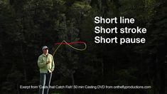 Fly Casting Essentials, Essential 3, Vary the Casting Arc - YouTube