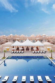 Have you ever seen a more posh pool? ITC Grand Bharat (Gurgaon, India) - Jetsetter