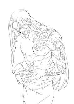 holy jesus he has long hair Overwatch Hanzo, Character Concept, Character Art, Concept Art, Hanzo Shimada, Drawing Reference Poses, Character Design Animation, How To Draw Hair, Art Tutorials