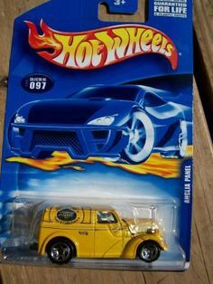 HOT WHEELS 2001 COLLECTOR # 97 ANGLIA PAhx Jgfhn chf Hlnh m  NEL TRUCK  FREE SHIPPING!!