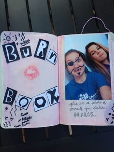 Wreak This Journal- Photo page.