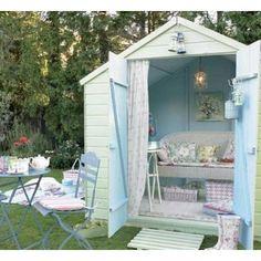 Cubby house cute colours