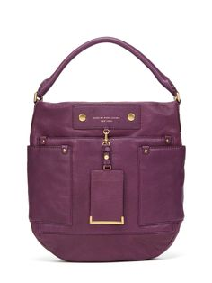 Preppy Leather Hobo by Marc by Marc Jacobs at Gilt
