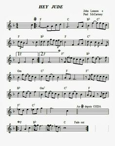 Saxophone Sheet Music, Violin Music, Piano Songs, Easy Piano Sheet Music, Song Sheet, Piano Sheet Music Classical, Trumpet Sheet Music, Lead Sheet, Lyrics And Chords