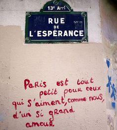 La rue de l'Espérance (Paris 13ème)