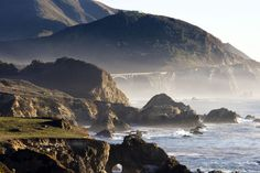 Big Sur, California - Beautiful place I want to visit with my poobear (dont tell him I told you his nickname!)   The beauty of this place is breathtaking. There are no shopping centres, no tourist attractions (besides stunning views), no street lights.