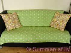 Summen af liv: Nye sofapuder - New pillows
