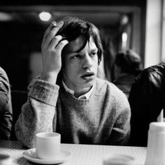 "Ani & Will on Instagram: ""Mick Jagger having a cuppa during his younger years. #tea #tealover #teaculture #MickJagger"""