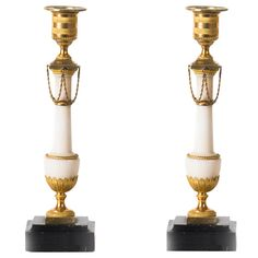Louis XVI Candleholders