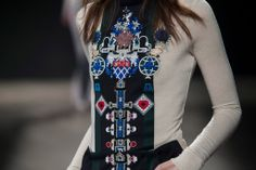 Mary Katrantzou AW14 at #LFW @Mary Katrantzou