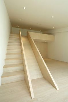 Fragments of architecture I'm such a kid, but I've always wanted a stair slide. Home Interior Design, Interior Architecture, Simple Interior, Stairs Architecture, Interior Doors, Contemporary Interior, Stair Slide, Stairs With Slide, Escalier Design