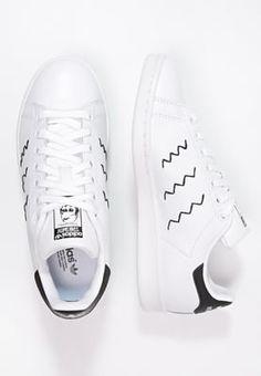 adidas stan smith zig zag zwart