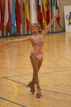 Tanja Romano, Artistic roller skating inspirations for Sk8 Gr8 Designs
