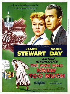 A Year of Spy Films 188/365 The Man Who Knew Too Much (1956 United States)  The International Spy Film Guide Score: 9/10  #isfg #spyfilmguide #alfredhitchcock #jamesstewart #spymovie #spyfilm #dorisday #morocco #assassination https://www.kisskisskillkillarchive.com