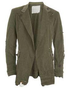 GREG LAUREN Army Tent Jacket