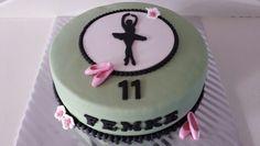 Ballerina taart / ballet / cake / silhouet