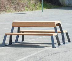 Exterior benches   Street furniture   Campus   Westeifel Werke. Check it out on Architonic
