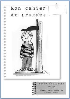Cahier de progrès Petite Section, Class Management, Back To School, Kindergarten, Encouragement, Classroom, Positivity, Chart, Teaching
