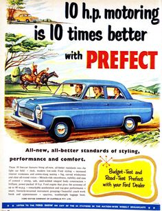 1000+ images about Ford Prefect on Pinterest   Ford, 1950s and Marvel