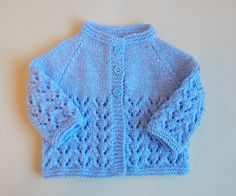 Knitting Patterns Galore - Bibi Baby Jacket